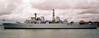 Type 82 HMS Bristol, Portsmouth, 4 August 2001 1.  Still in service in 2013.