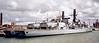Type 23s HMS Lancaster (F229) & Marlborough, Portsmouth, 4 August 2001 2