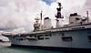 HMS Illustrious, Portsmouth, 4 August 2001 2