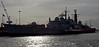 Type 42 HMS Manchester & Whitspray, Portsmouth, 5 March 2007 2