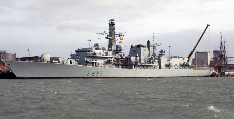Type 23 HMS Westminster, Portsmouth, 5 March 2007 2