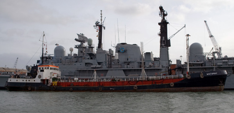 Type 42 HMS Manchester & Whitspray, Portsmouth, 5 March 2007 1.  Manchester was paid off in 2011.  By 2013 the class 42 was extinct except for HMS Edinburgh.