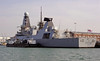 Type 45 destroyer HMS Duncan, Portsmouth, 10 March 2014 2.