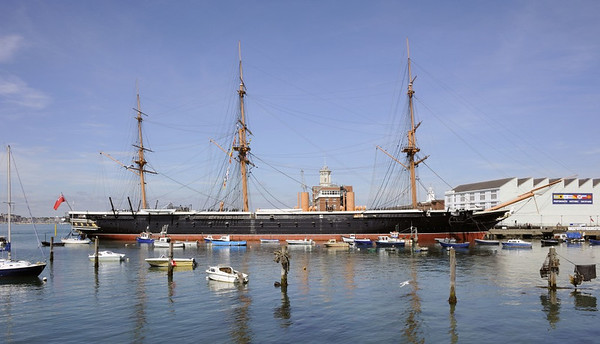 HMS Warrior 1860, Portsmouth, 2 September 2013