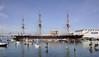 HMS Warrior 1860, Portsmouth, 2 September 2013