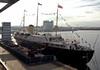 Britannia, Leith, 14 October 2007   A last look.