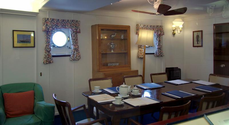 Admiral's cabin, Britannia, Leith, 14 October 2007 2