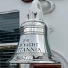 Ship's bell, Britannia, Leith, 14 October 2007