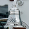 Ship's bell, Britannia, Leith, 14 October 2007