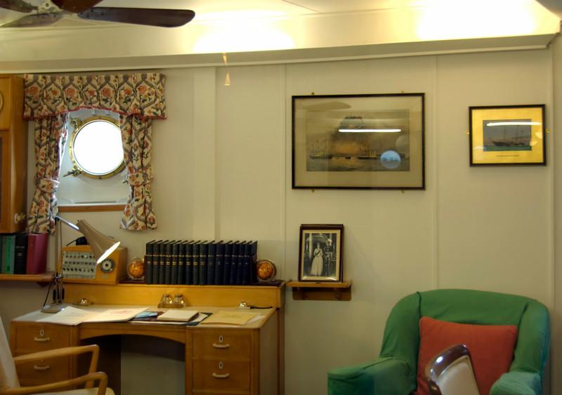 Admiral's cabin, Britannia, Leith, 14 October 2007 1