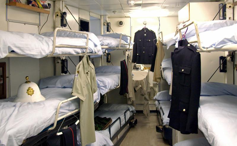 Royal Marines' barracks, Britannia, Leith, 14 October 2007