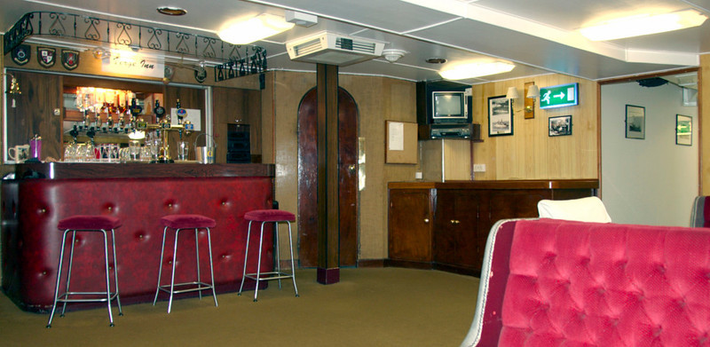 Petty officers' and Royal Marines sergeants' mess, Britannia, Leith, 14 October 2007