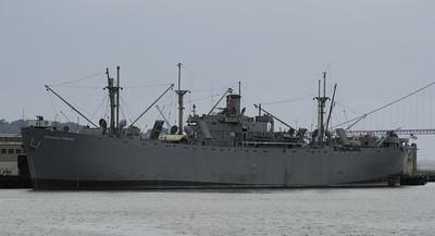 USA: California - San Francisco ships, 2013