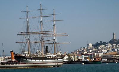 USA: California - San Francisco ships, 2006