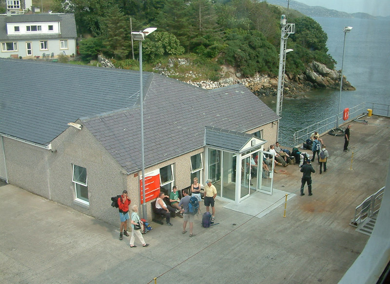 Tarbert Pier, Isle of Harris