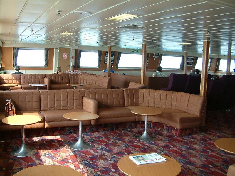 Forward passenger lounge on Hebrides
