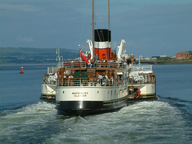 Waverley off Greenock