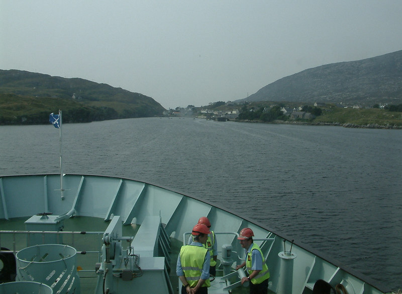 Approaching Tarbert, Harris