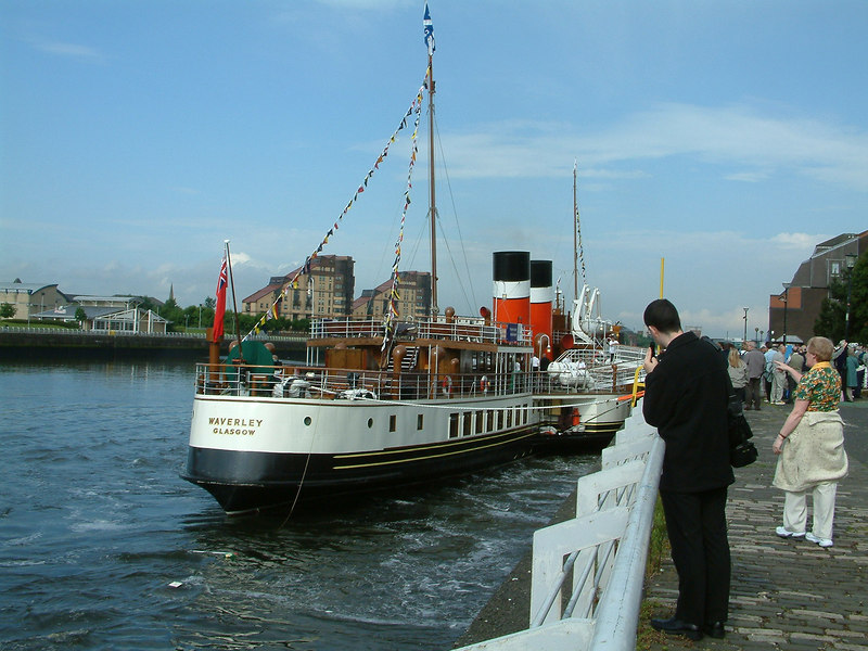 In mid June paddle steamer Waverley returned home at the completion of the two-phase, £7m Heritage Rebuild Project After a ceremony at her base at Glasgow Anderston Quay the magnificantly restored ship departed for a nostalgic trip to her original haunts in Loch Long and Loch Goil.