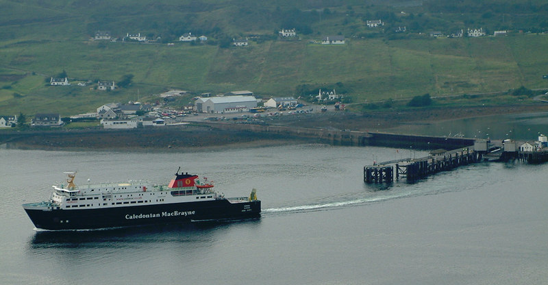 Hebrides leaving Uig for Lochmaddy on the isle of North Uist