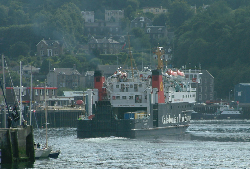 Lord of the Isles arriving at Oban