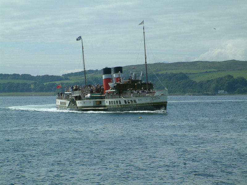 Waverley turning in the Largs Channel