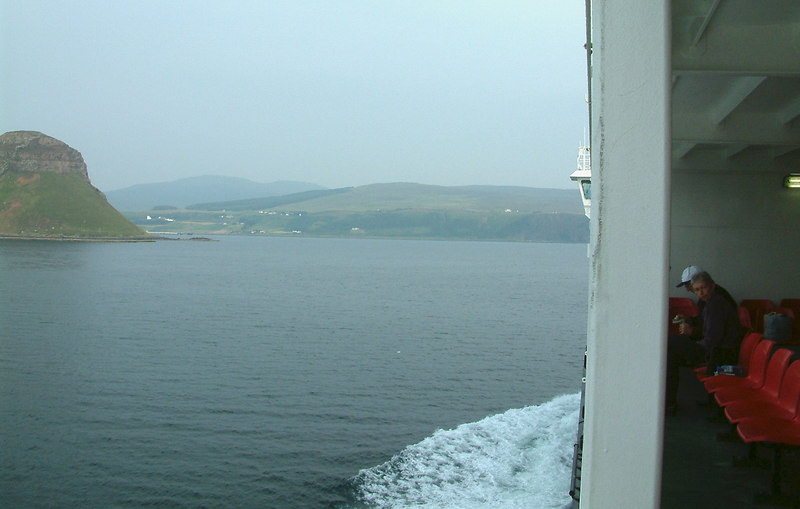 Into Loch Snizort, heading for Uig bay.