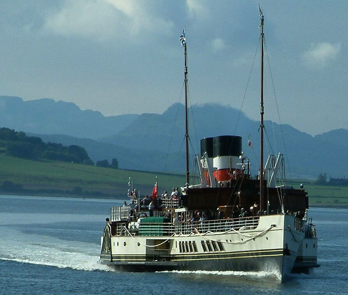 Waverley crossing the Tail of the Bank