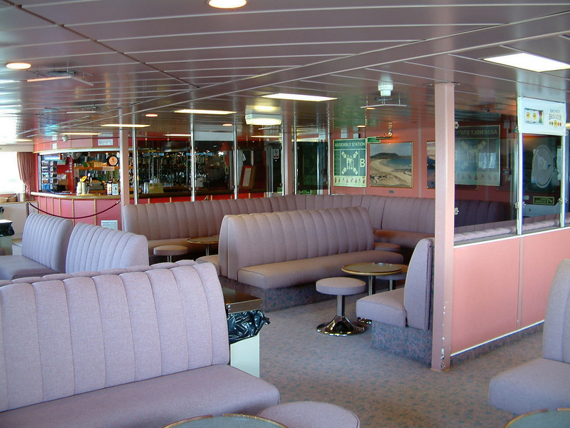 Bar, aft on the main passenger deck of Isle of Mull