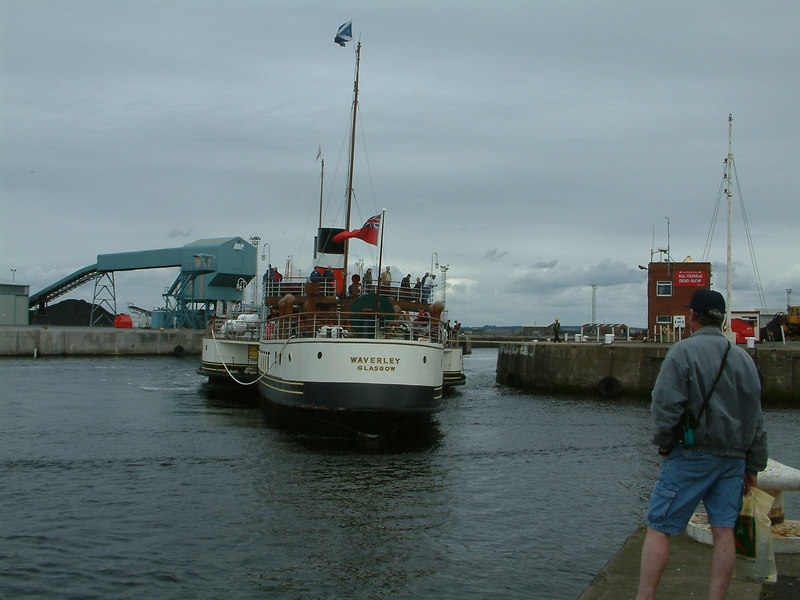 Waverley canting at Ayr