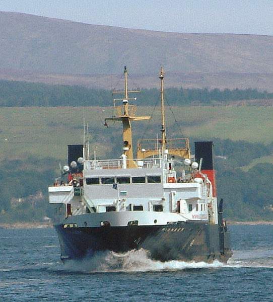 Pioneer was the first main route ferry to be ordered for the new Caledonian MacBrayne fleet in 1973. Thirty years later she was in her final period of service with the company.