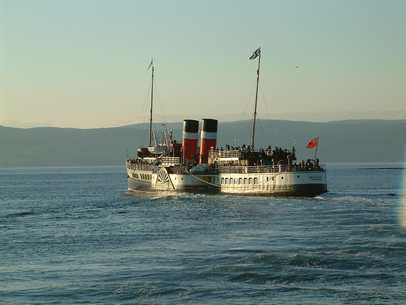 Evening departure from Largs