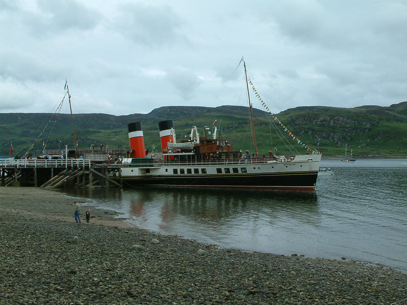 Waverley at Tighnabruaich (Gaelic for 'the house on the hill') in the Kyles of Bute