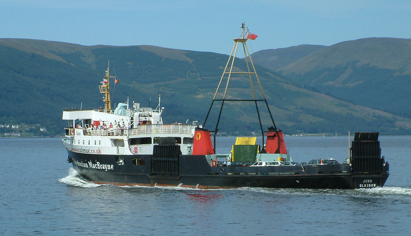 Juno heading for Dunoon