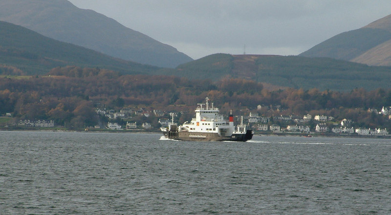 Coruisk heading towards Dunoon