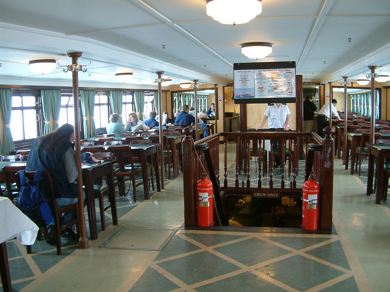 Waverley's restored Dining Saloon
