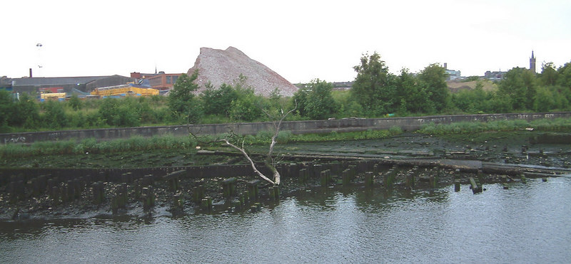 The former shipbuilding ways of the D & W Henderson yard at Meadowside were still visible at low tides in 2003, well over half a century after shipbuilding ceased. However, the remains of the yard are likely to disappear forever over the next few years as the area is 'regenerated'.