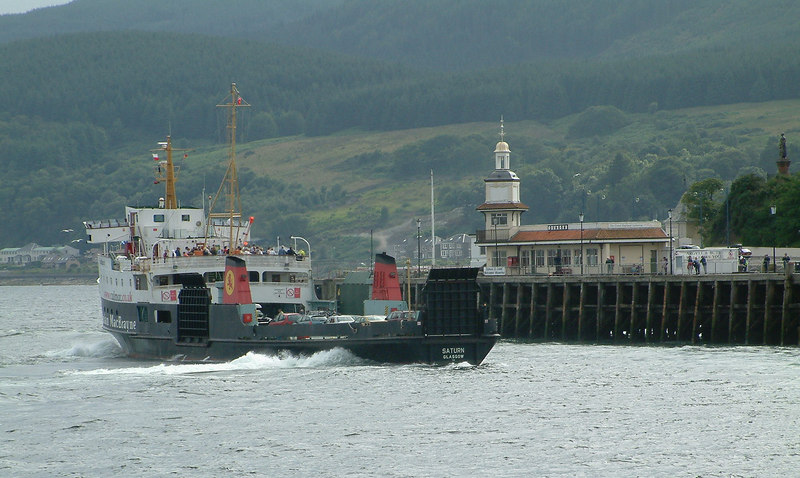 Saturn arriving at Dunoon
