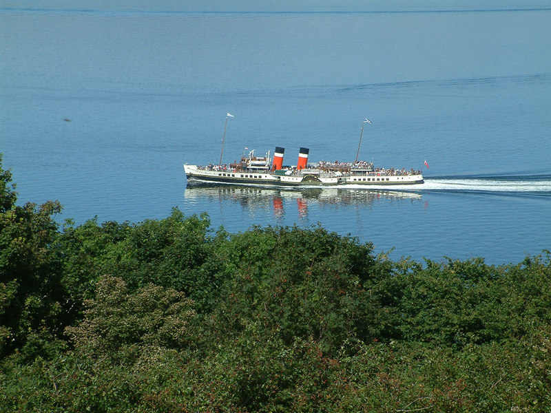 Waverley off Gourock