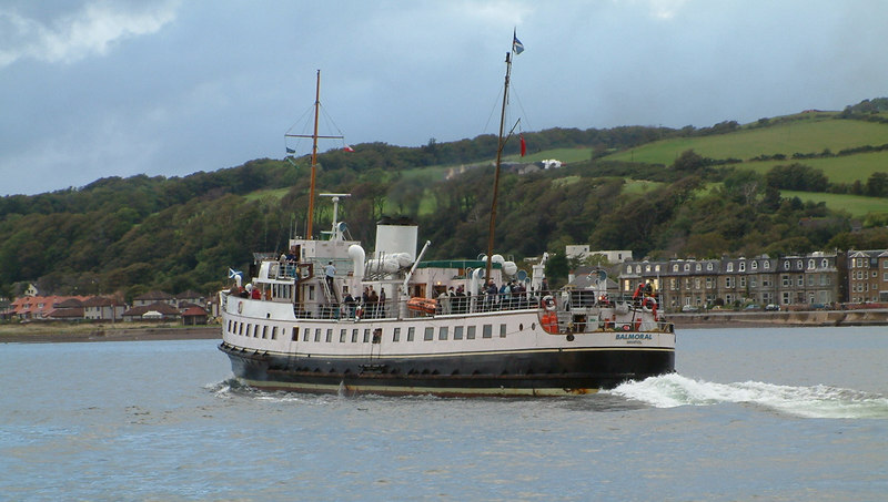 Balmoral departing Largs