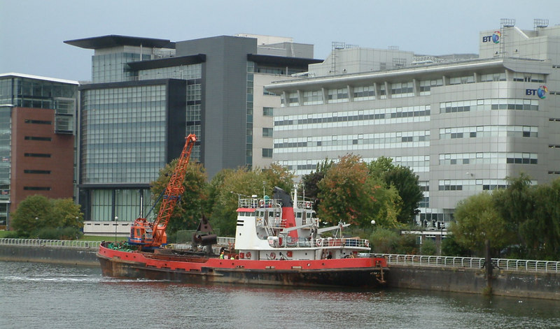 Hebble Sand dredging at the Broomielaw