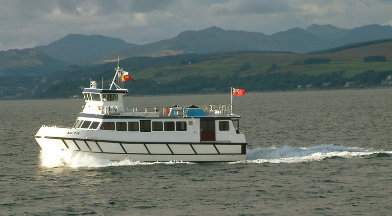 Ali Cat on special Cowal Games sailings