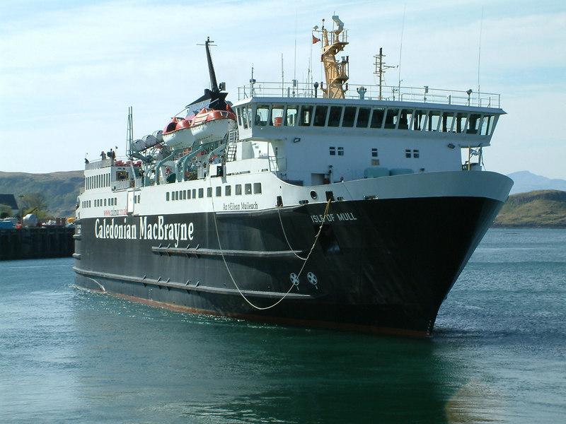 Isle of Mull berthing at Oban