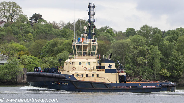 Clyde Tug Ayton Cross of Clyde Marine Services Ltd