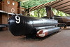 German Molch (= Newt or Salamander} midget submarine M391, South African National Museum of Military History, Johannesburg, 20 September 2018 1.  393 of these one-man submarines were built in 1944 - 1945.  They suffered heavy losses, and this is one of only four survivors.