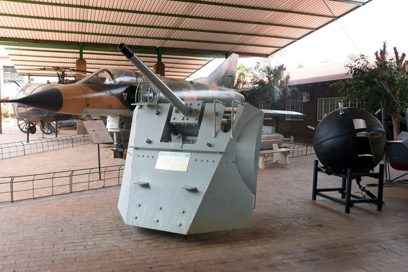 Hotchkiss 6-pounder gun, South African National Museum of Military History, Johannesburg, 20 September 2018 1.