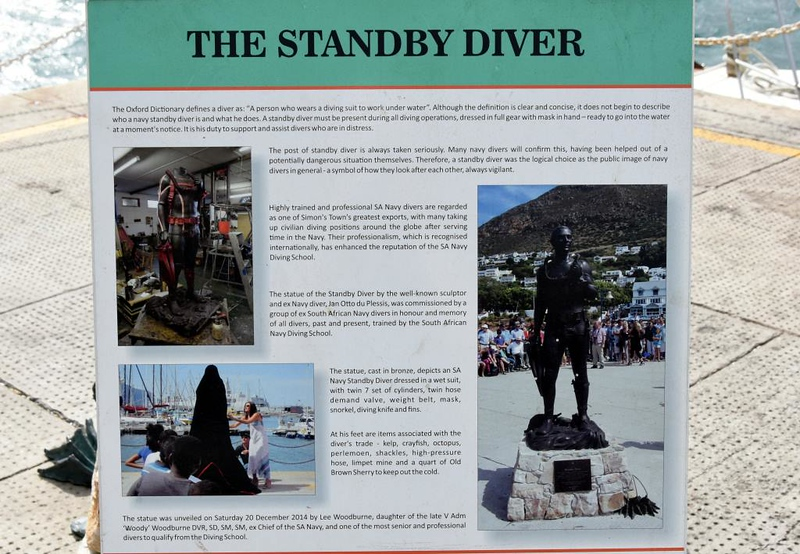 The standby diver statue, Simon's Town, 13 September 2018 1.