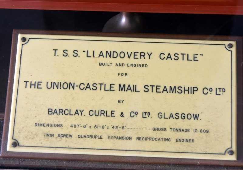 Llandovery Castle model, Town Hall, Simon's Town, 13 September 2018 2.