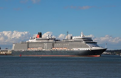Queen Elizabeth departs Southampton on 10th August 2019, heading  for Rotterdam and Norway.