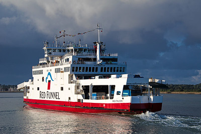 Red Falcon is the 07.00 service from Southampton - East Cowes on 10th August 2018.